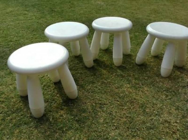 ... Children Chair, Pvc White, Picture 2198
