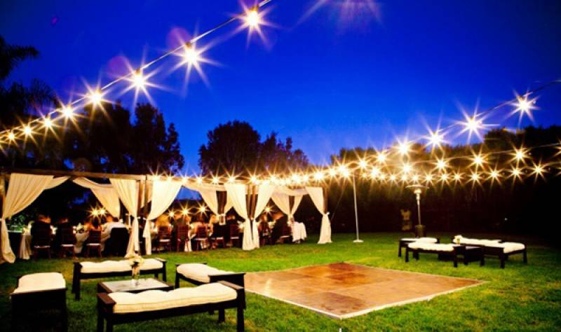 Outdoor Wedding Dance Floor Ideas Designs